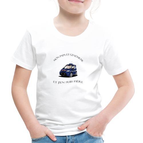 mon papa gendarme - T-shirt Premium Enfant