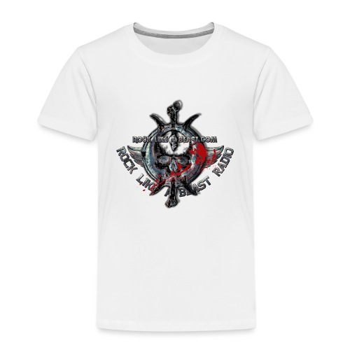 Blood Skull Logo - Premium-T-shirt barn