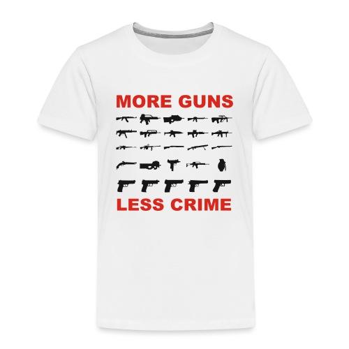 guns - Kinder Premium T-Shirt
