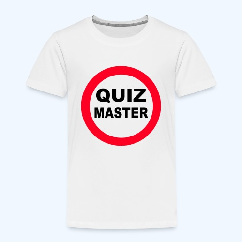 Quiz Master Stop Sign - Kids' Premium T-Shirt