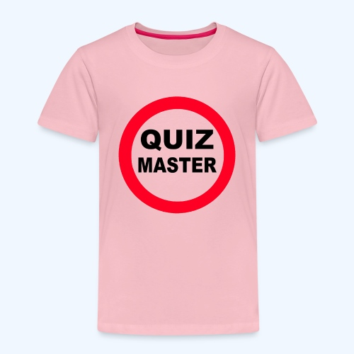 Quiz Master Stop Sign - Kids' Premium T-Shirt