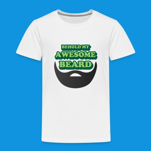 Awesome Beard - Kids' Premium T-Shirt
