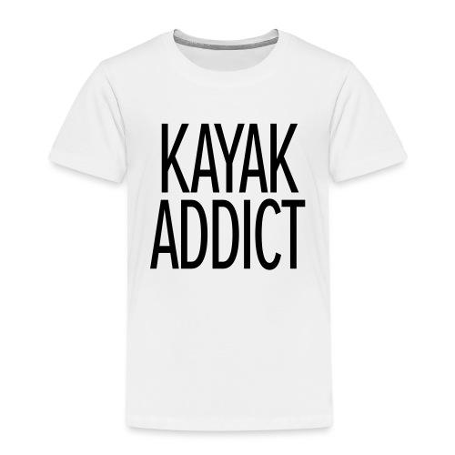 Kayak addict sweat-shirt Contraste - T-shirt Premium Enfant