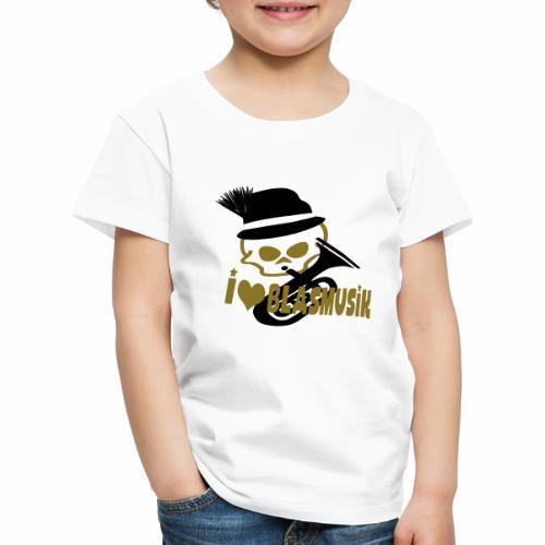 i love blasmusik - Kinder Premium T-Shirt