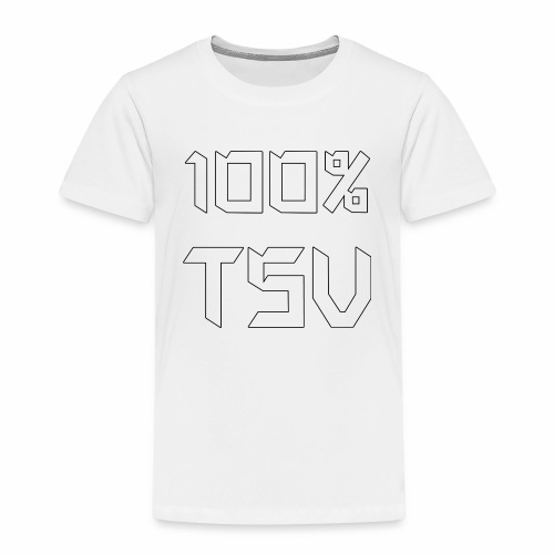 100 TSV png - Kinder Premium T-Shirt