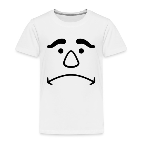 Disappointed Face - Kids' Premium T-Shirt
