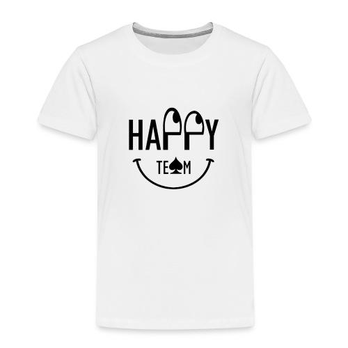 Happy Team - Maglietta Premium per bambini
