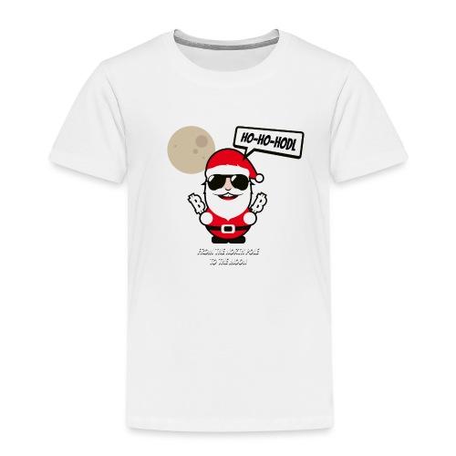 ho-ho-hodl-santa.png - Kinder Premium T-Shirt