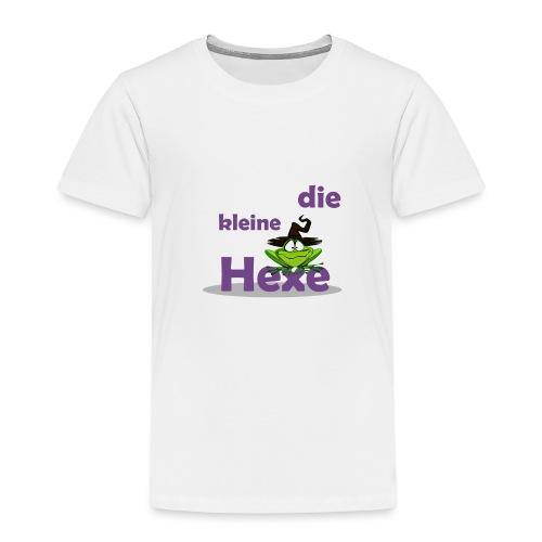 Baby Bio-Langarm-Body Kleine Hexe Wunschname - Kinder Premium T-Shirt