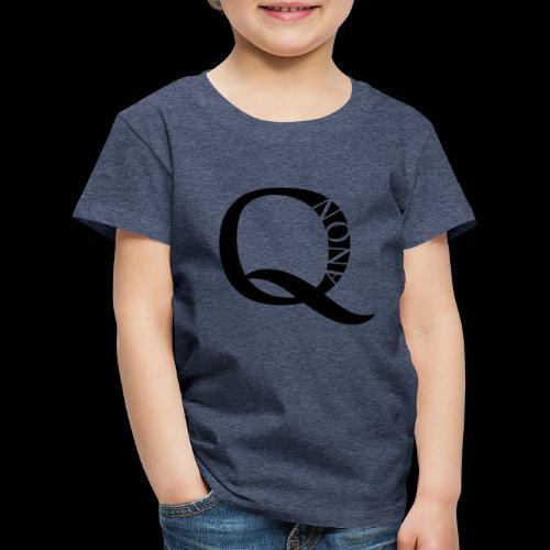 Q Anon Q-Anon Original Logo - Kinder Premium T-Shirt