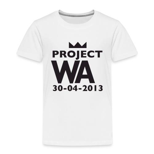 project wazw - Kinderen Premium T-shirt