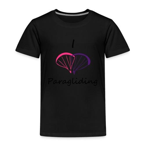 I Love Paragliding V2 - Kids' Premium T-Shirt