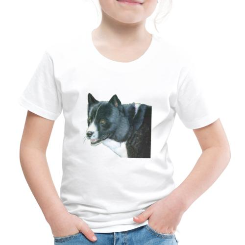 karelian beardog - Børne premium T-shirt