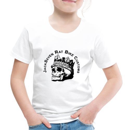 JackSeven Customs - Skull -Totenkopf - Bobber - Kinder Premium T-Shirt