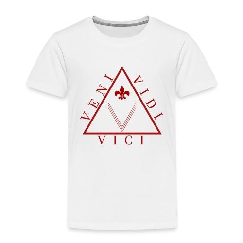 Veni Vidi Vici Sieg Geschenkidee - Kinder Premium T-Shirt