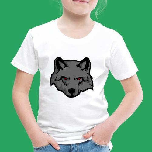 wolf logo - Maglietta Premium per bambini