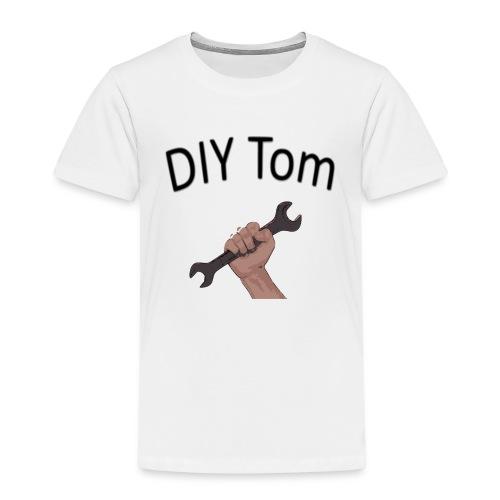 DIY Grafik mit Schrift - Kinder Premium T-Shirt