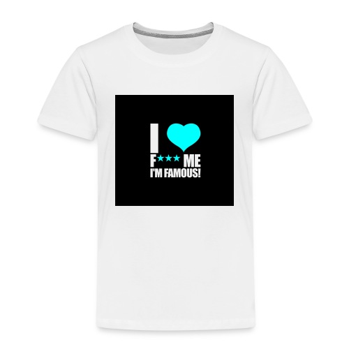I Love FMIF Badge - T-shirt Premium Enfant