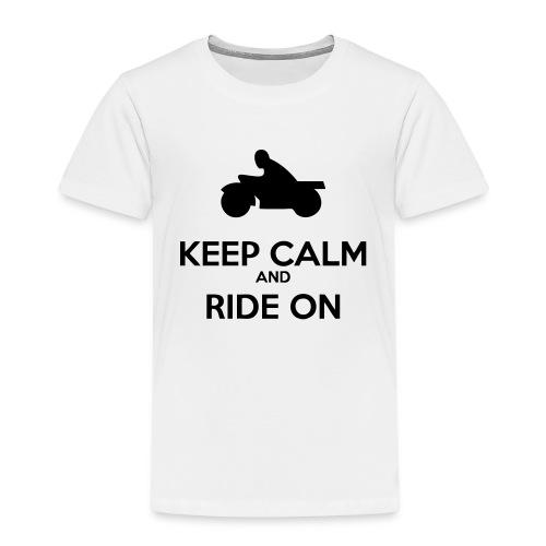 Keep Calm MC - Premium-T-shirt barn