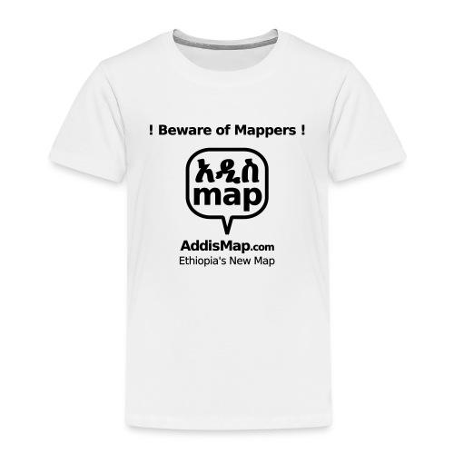 bewareofmappers - Kinder Premium T-Shirt