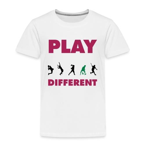PLAY DIFFERENT 2 - Kinder Premium T-Shirt