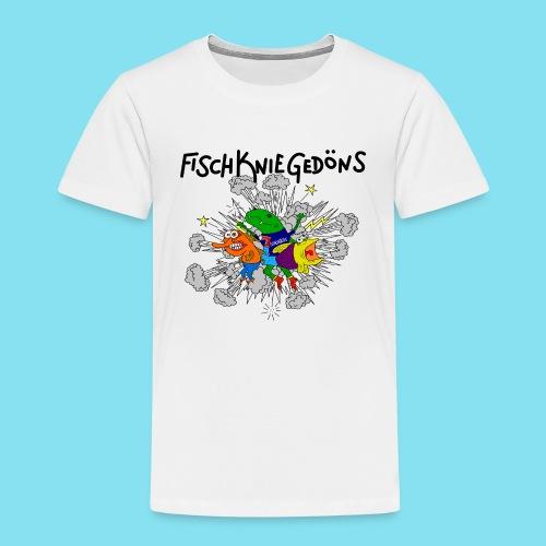 logoszschwarz png - Kinder Premium T-Shirt