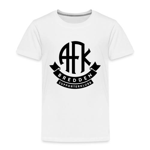 bredden-logo-1farge - Premium T-skjorte for barn