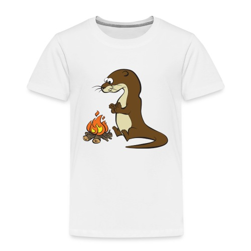 Song of the Paddle; Quentin campfire - Kids' Premium T-Shirt