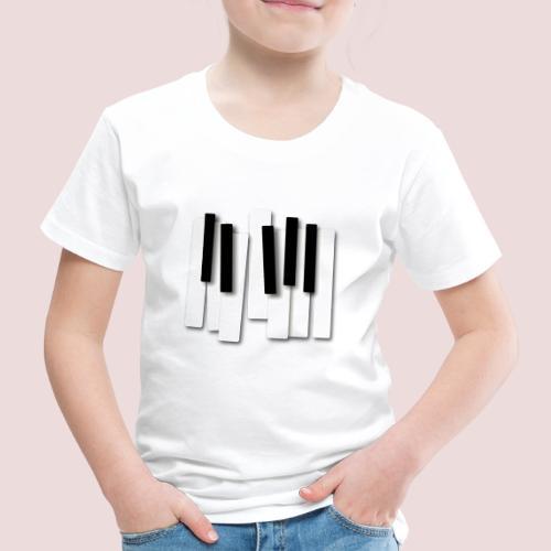 Klaviatur - Premium-T-shirt barn