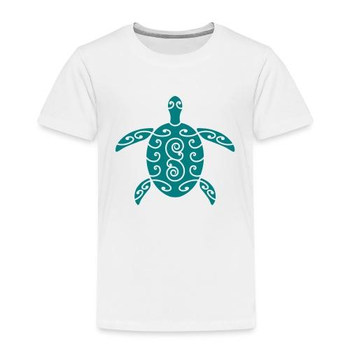 Schildkröte mit Muster 1 - Kinder Premium T-Shirt