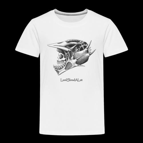 Downhill Skull - Kinder Premium T-Shirt