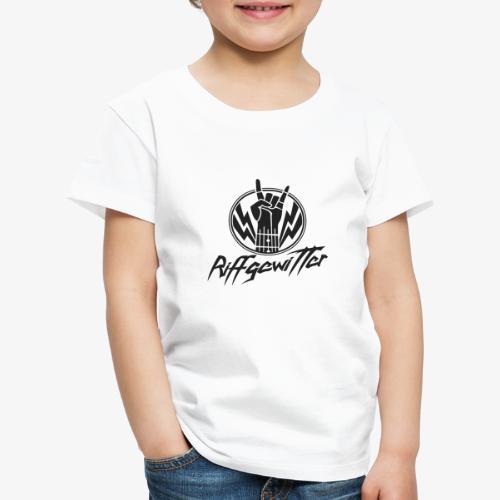 Riffgewitter - Hard Rock und Heavy Metal - Kinder Premium T-Shirt