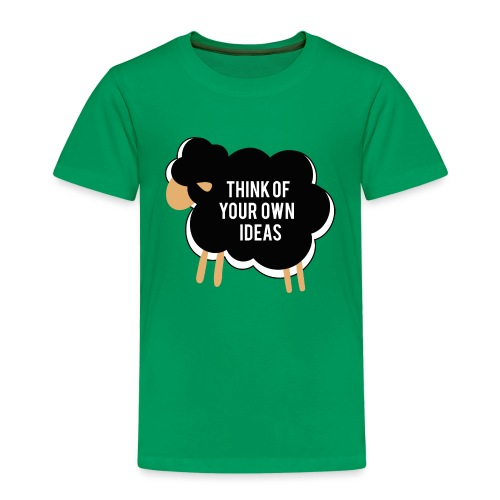 Think of your own idea! - Kids' Premium T-Shirt