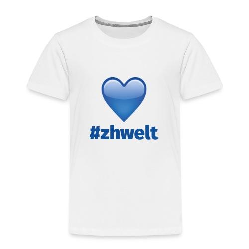 ZHWELT LOGO mit Herz - Kinder Premium T-Shirt