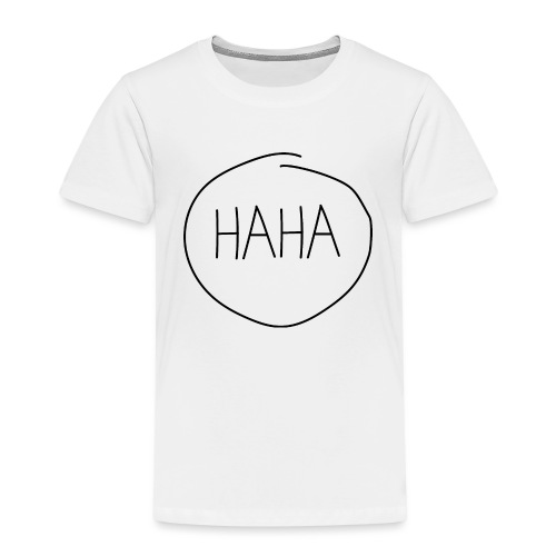 H A H A - imperfect circle - Kinderen Premium T-shirt