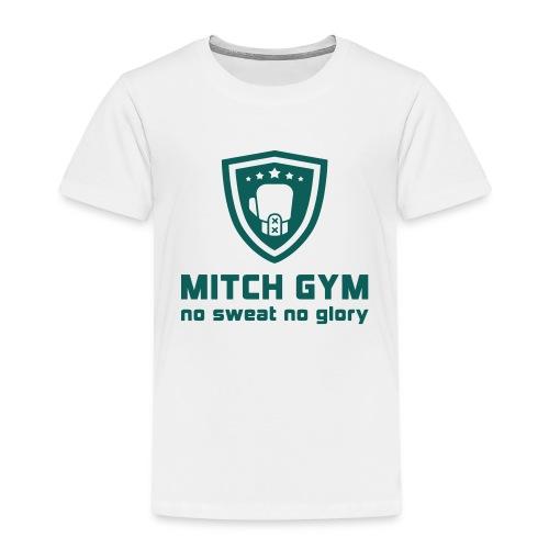 Logo_Mitch_Gym edit - Kinderen Premium T-shirt