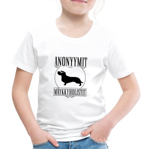 Mäykkyholisti KK II - Lasten premium t-paita