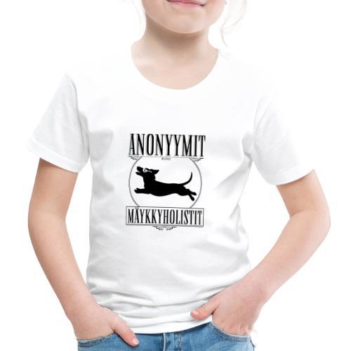 Mäykkyholisti LK II - Lasten premium t-paita