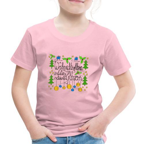 Weihnachtsglitzern - Kinder Premium T-Shirt