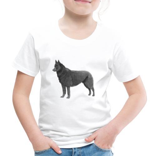 schipperke Ink - Børne premium T-shirt