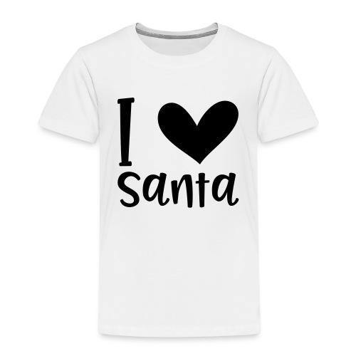 I love Santa - Kinder Premium T-Shirt