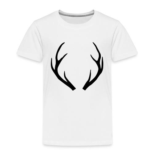 deer antler - Kids' Premium T-Shirt