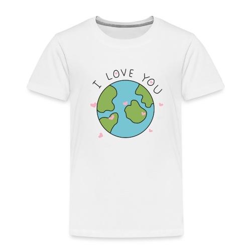 iloveyou - Maglietta Premium per bambini