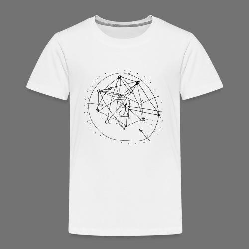 SEO-strategi No.1 (sort) - Børne premium T-shirt