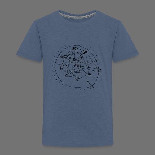 Strategia SEO nr 1 (czarny) - Koszulka dziecięca Premium