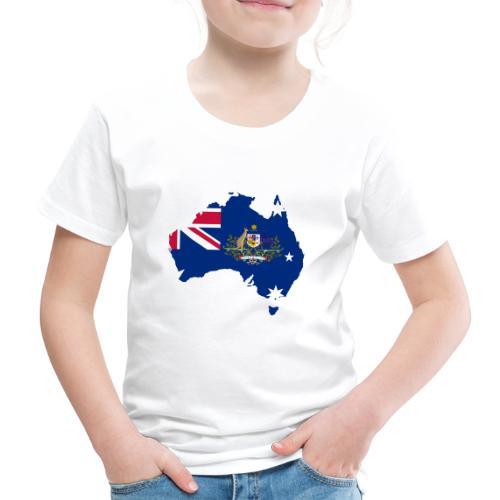 Australien Australia Kontinent Insel Urlaub - Kinder Premium T-Shirt