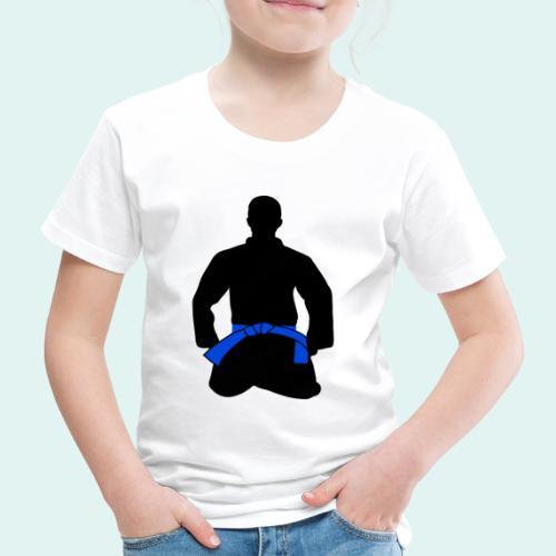 Judo Blaugurt - Kinder Premium T-Shirt