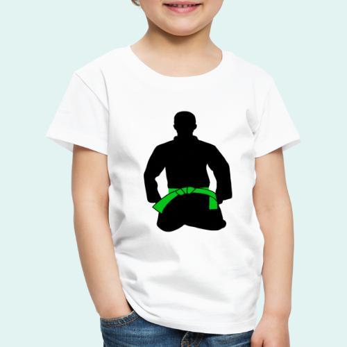 Judo Grüngurt - Kinder Premium T-Shirt