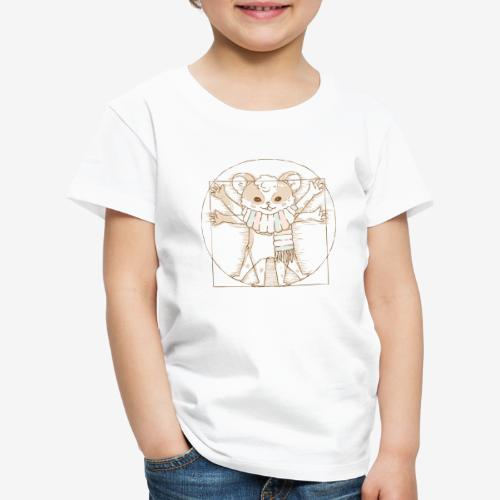 Zcooly Vitruvian Pi - Premium-T-shirt barn