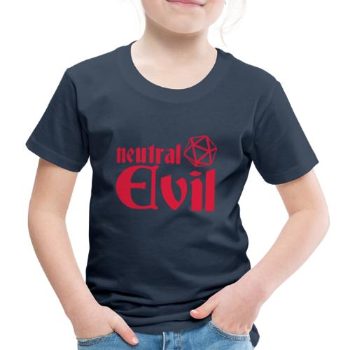 neutral evil - Kids' Premium T-Shirt